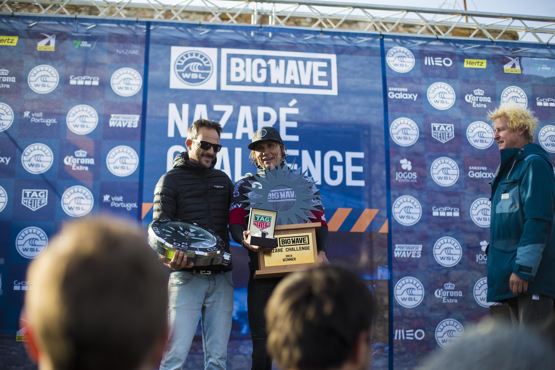 TAG Heuer ha cronometrado el Challenge de Nazaré del Big Wave Tour.