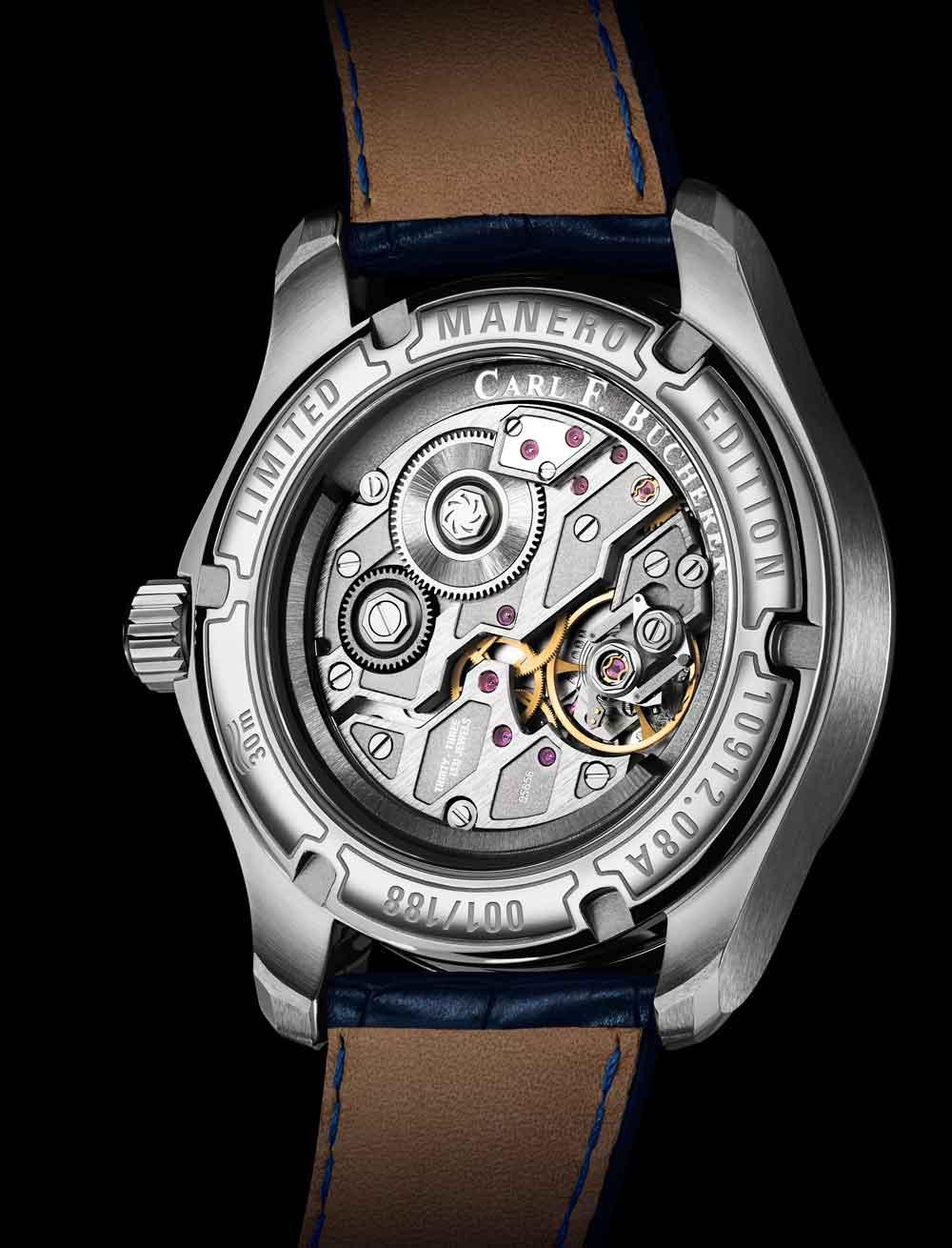 calibre Reloj Carl F. Bucherer Manero Power Reserve