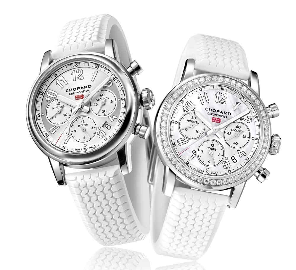 Reloj Chopard Mille Miglia Chronograph versión femenina