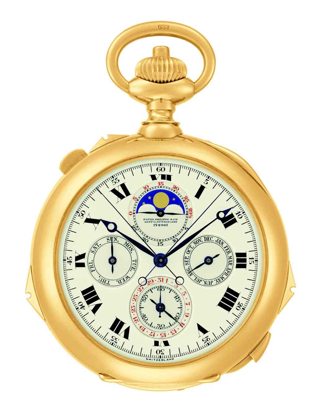 Reloj Patek Philippe Henry Graves Jr