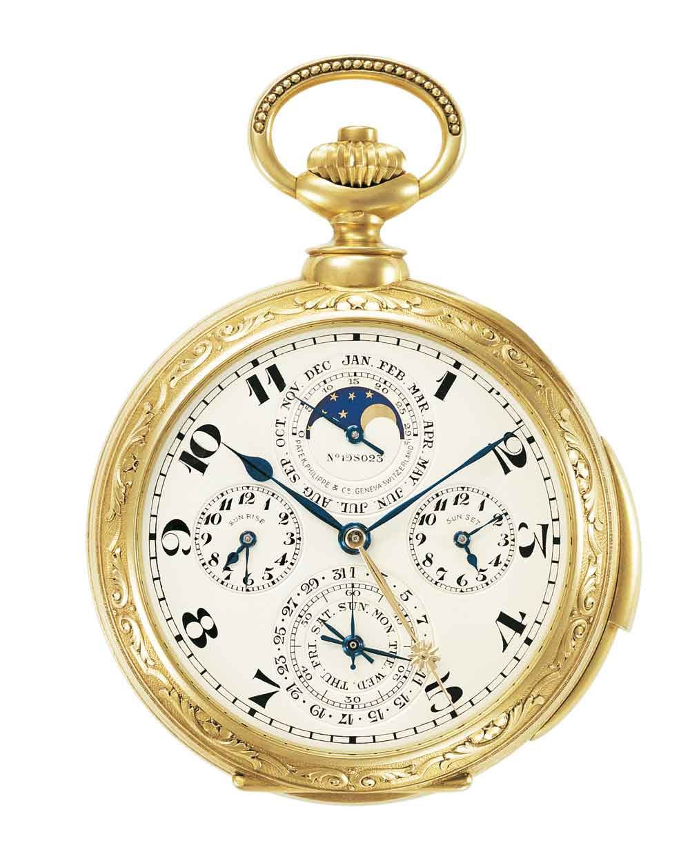 Reloj bolsillo Patek Philippe James Ward Packard