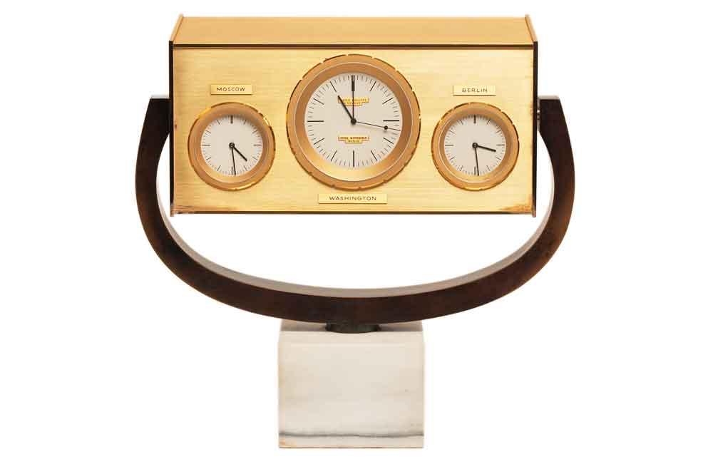 Reloj Patek Philippe mesa John Kennedy