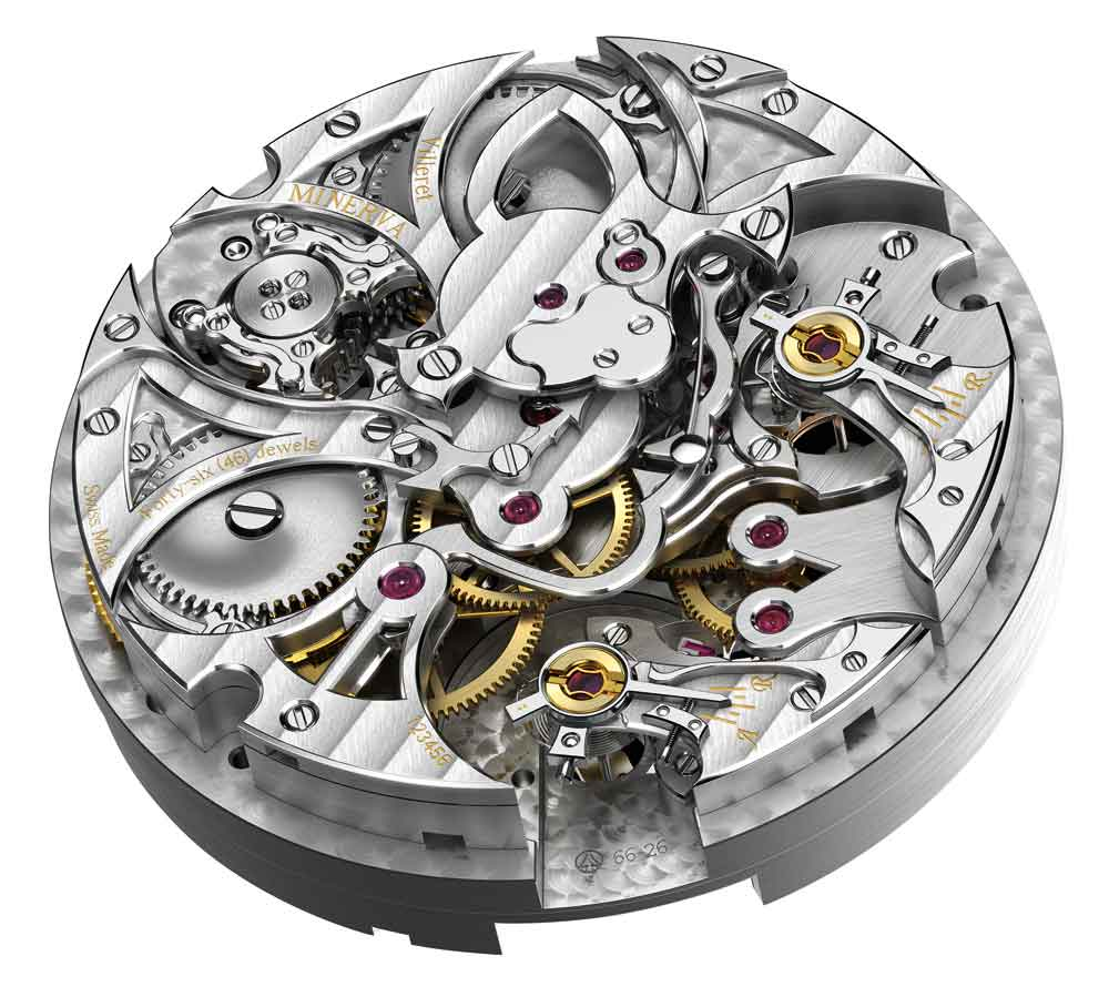 Calibre Montblanc TimeWalker Chronograph 1000 Limited Edition 18