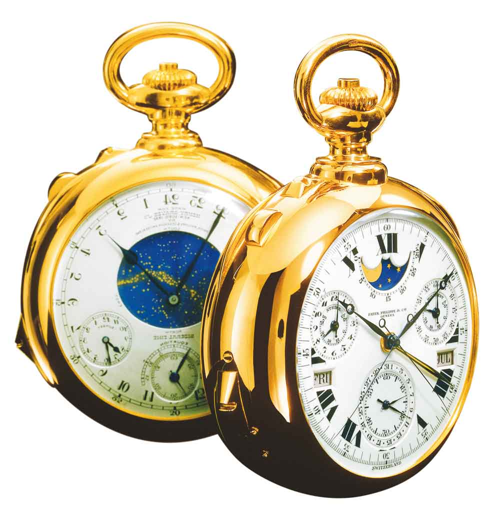 Reloj bolsillo Patek Philippe Henry Graves Supercomplicacion más caro del mundo
