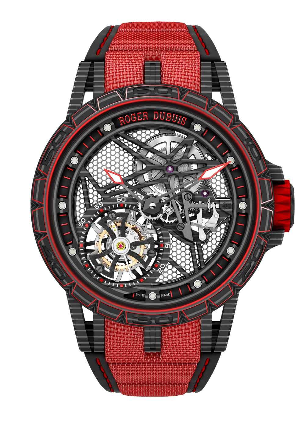 Reloj ROGER DUBUIS EXCALIBUR SPIDER CARBON
