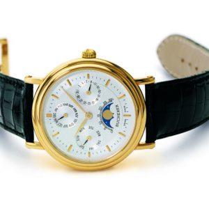 Reloj Arquímedes con calendario perpetuo