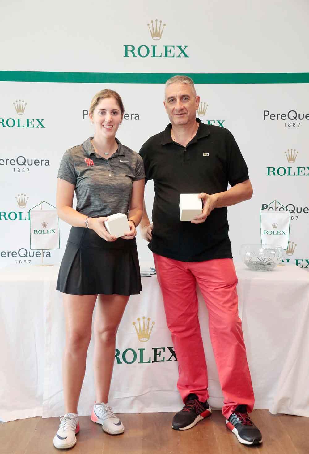Ganadores primera etapa Torneo Rolex de Golf