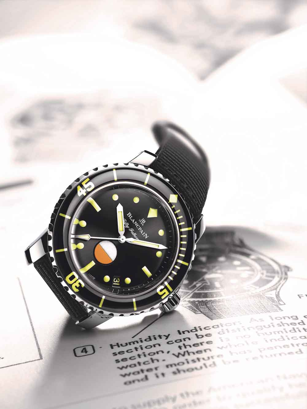 Blancpain Fifty Fathoms Only Watch
