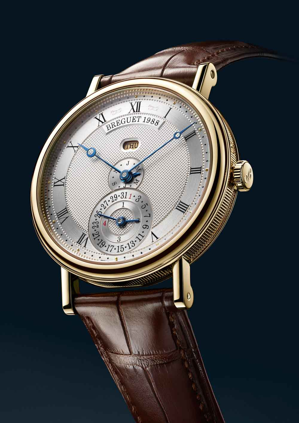 Breguet Classic calendario perpetuo lineal only Watch