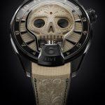 Reloj HYT fluídico Skull Vida forma calavera