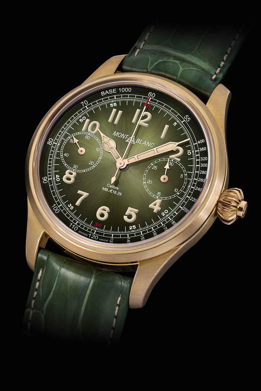 Reloj Montblanc 1858 Chronograph Tachymeter Unique Piece Only Watch 2017