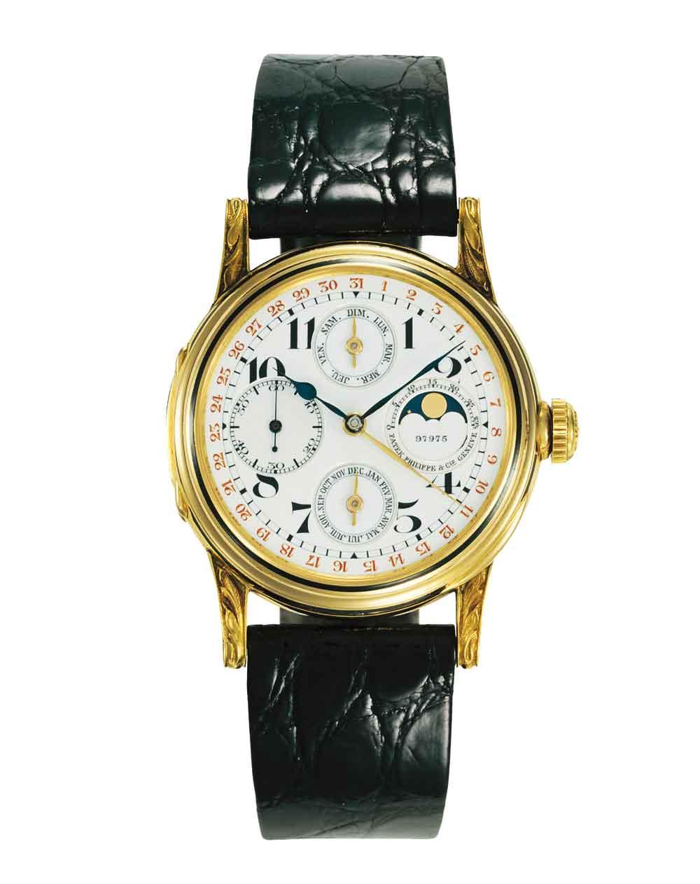 Primer reloj Patek Philippe calendario perpetuo
