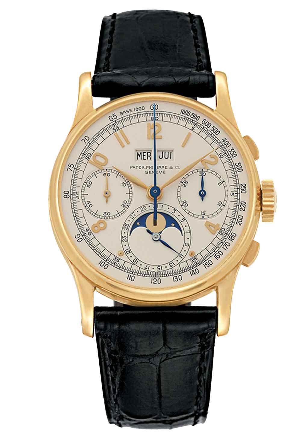 Reloj patek-philippe_1941-Ref-1518 calendario perpetuo