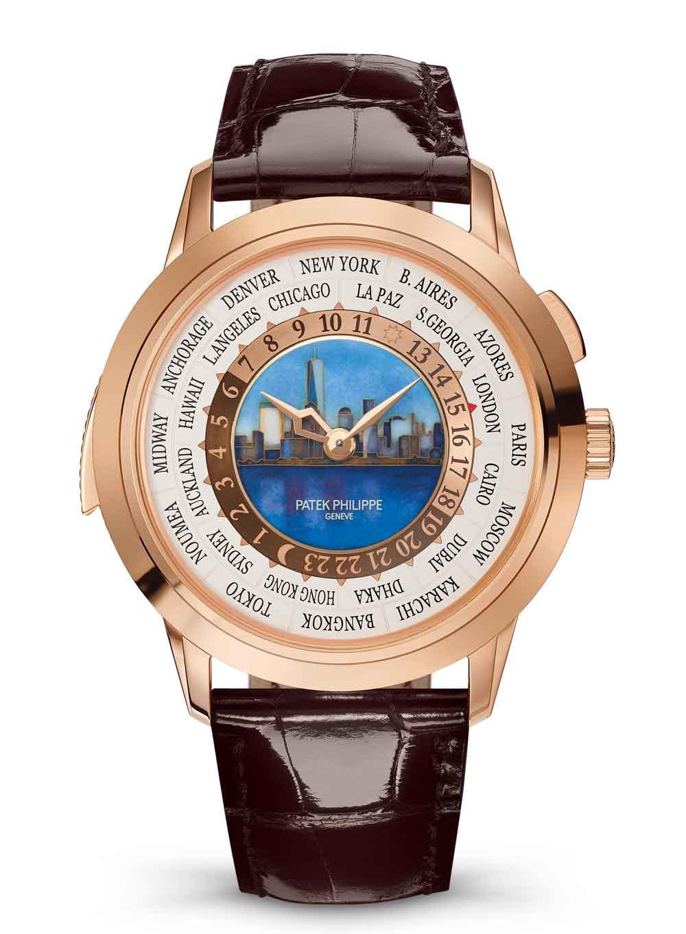 WORLD TIME MINUTE REPEATER REF. 5531, EDICIÓN ESPECIAL NUEVA YORK 2017