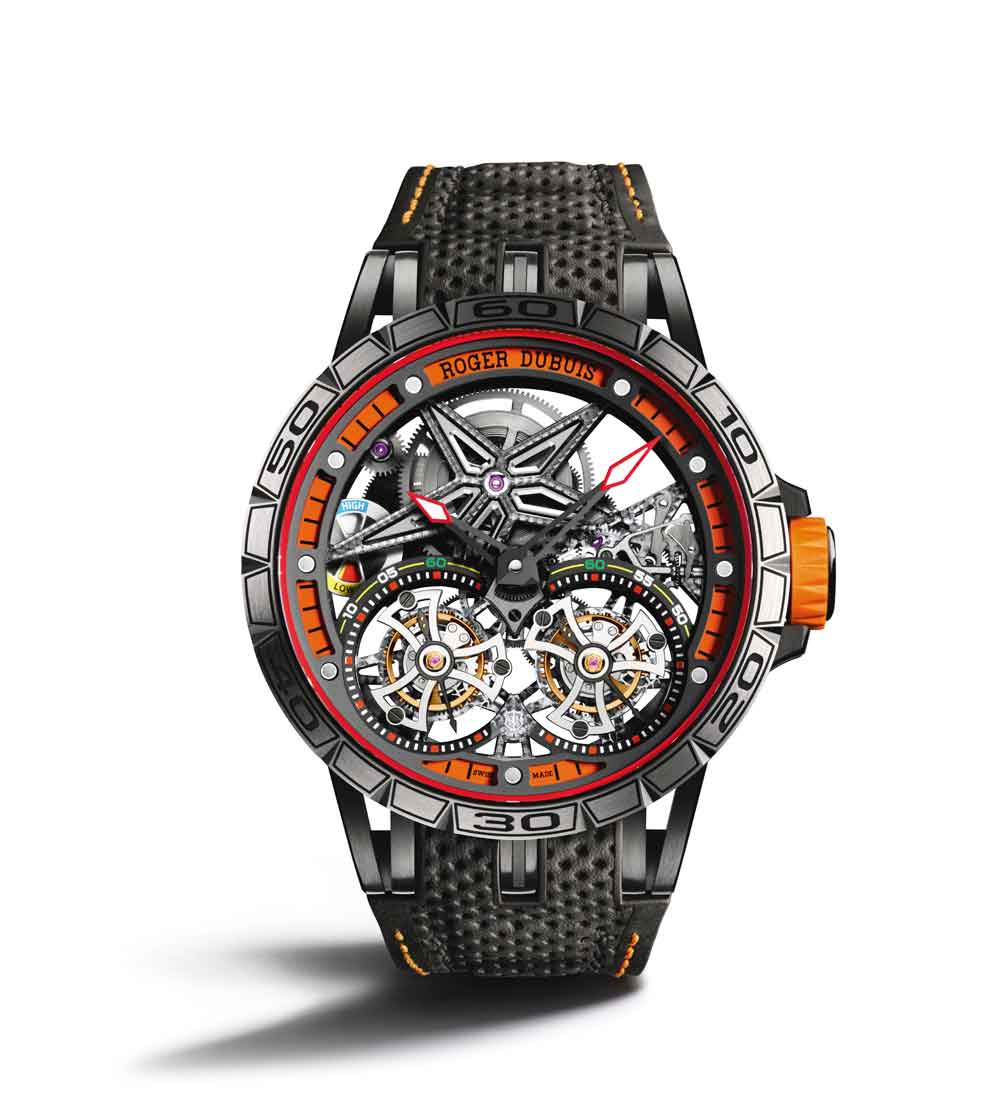 Reloj Roger Dubuis Excalibur Spider Tourbillon Volante