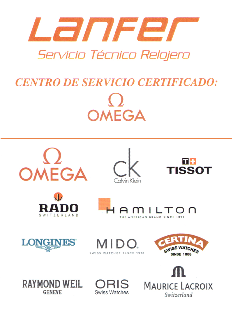 Servicio Tecnico Relojero Lanfer