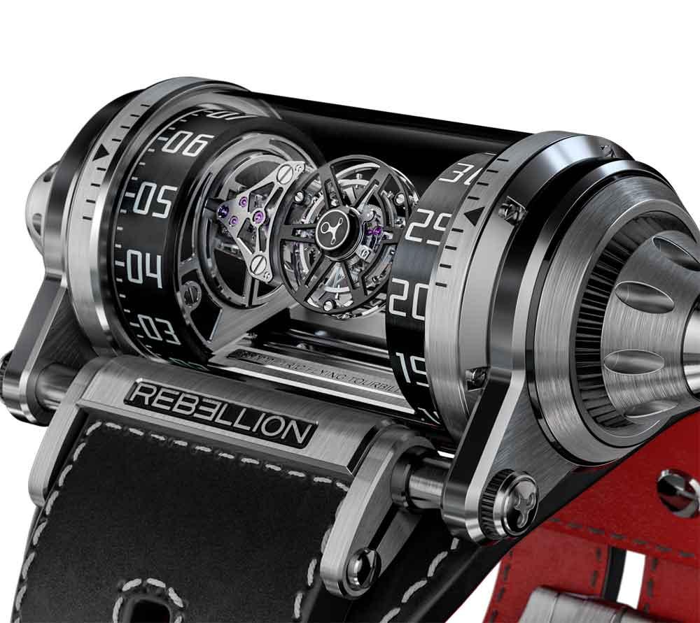 Tourbillon volante Rebellion Timepieces Weap One
