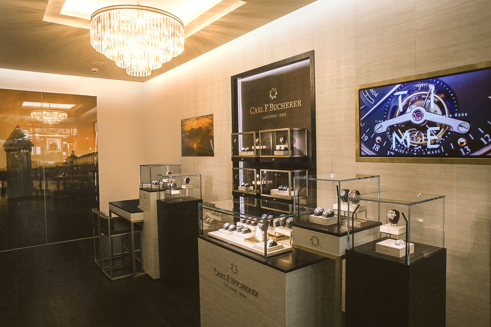 Boutique Carl F. Bucherer Moscú