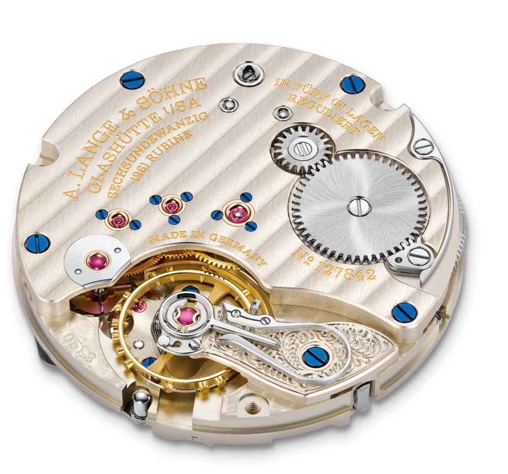 mecanismo Lange L051.3 de cuerda manual