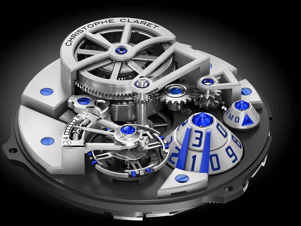 Calibre nuevo reloj Maestro Christophe Claret