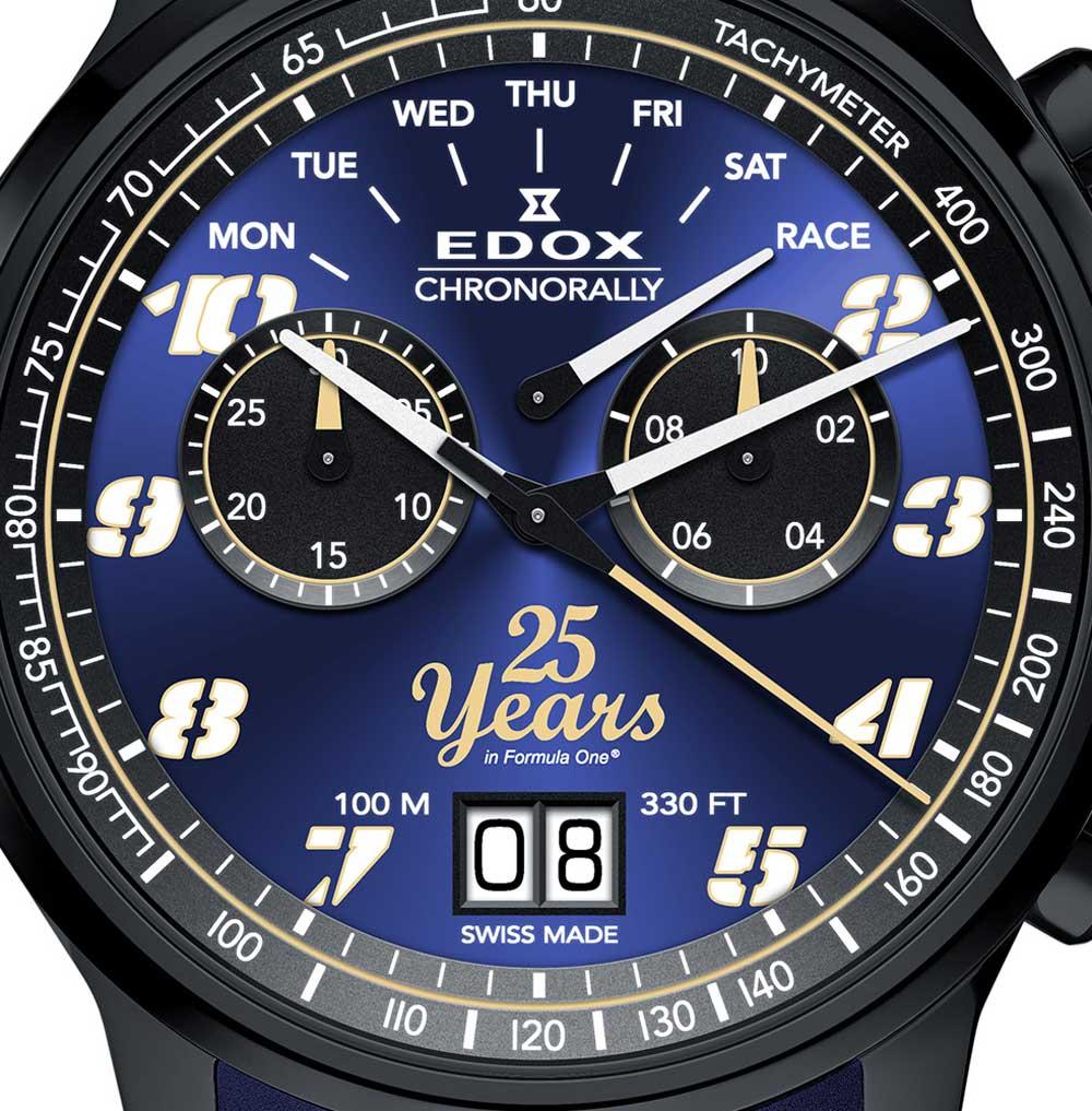 Esfera reloj Chronorally Sauber F1 Team 25 Anniversary Limited Edition