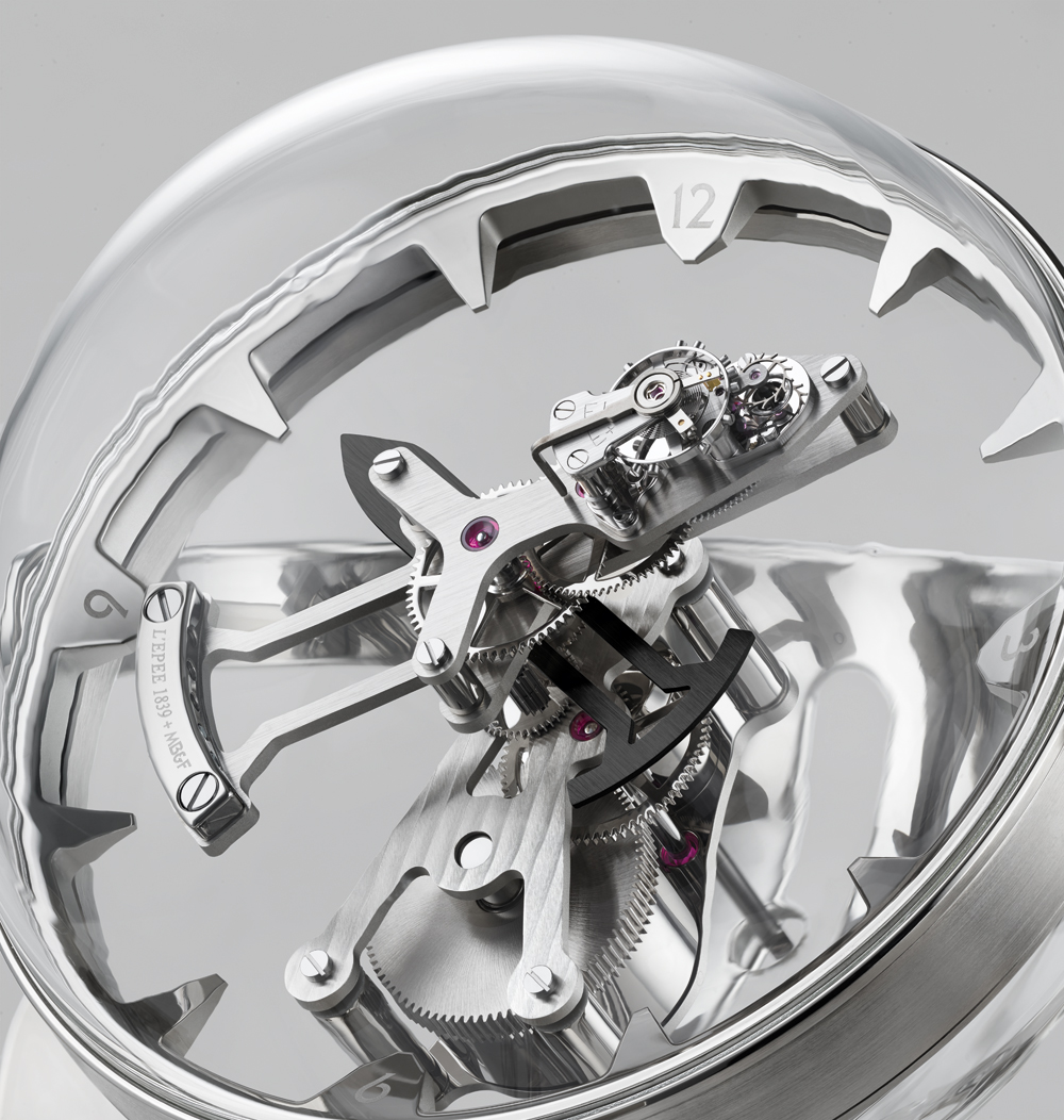 esfera Reloj de sobremesa Octopod, de MB& y L'Epée 1839