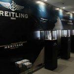 Exposición Breitling Supereocean 60 aniversario en joyería Pere Quera