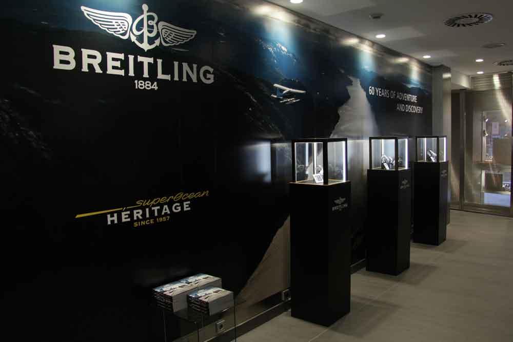 exposición Breitling Superocean 60 aniversario