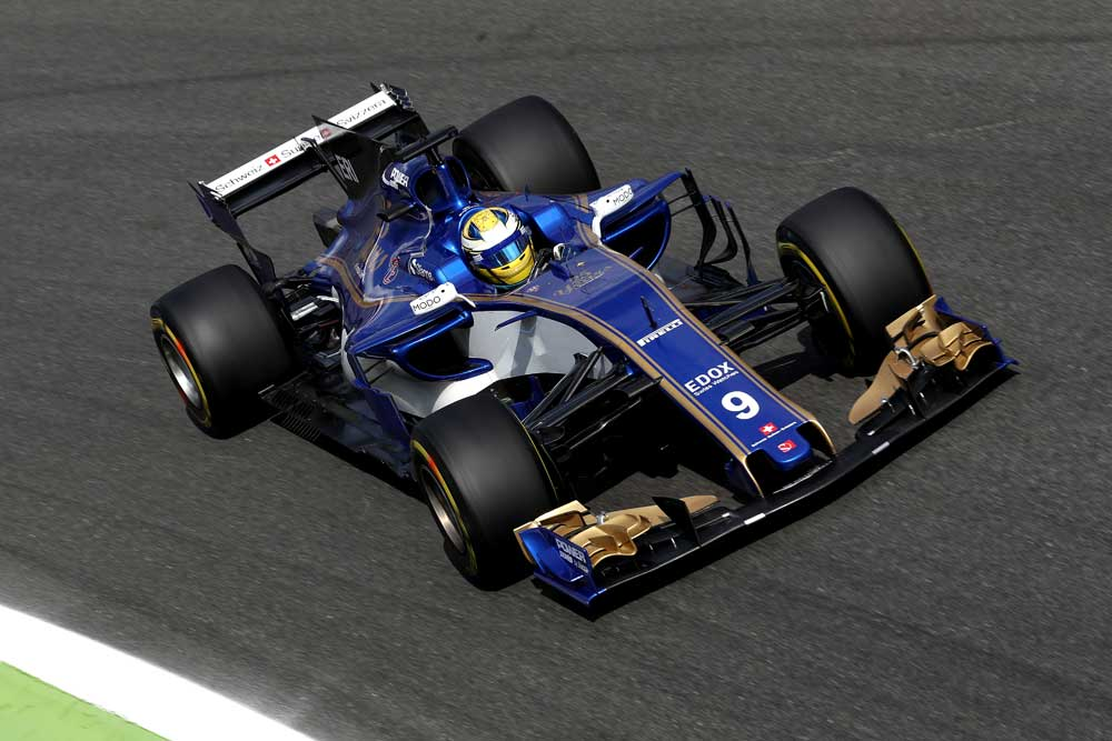 monoplaza equipo Sauber F1
