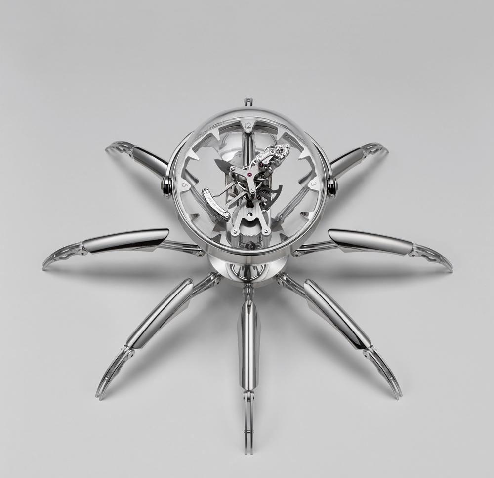 Reloj de sobremesa Octopod, de MB& y L'Epée 1839, en edición limitada