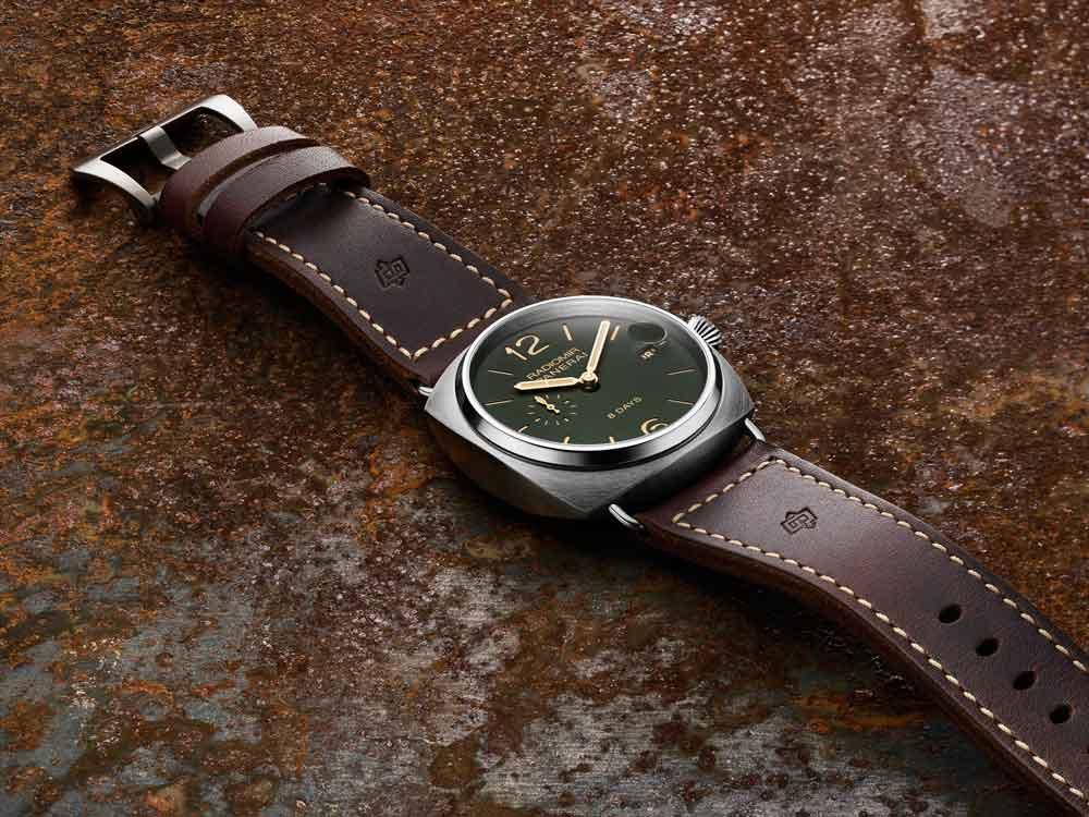 Relojes Panerai Radiomir 8 Days Titanio – 45mm esfera verde