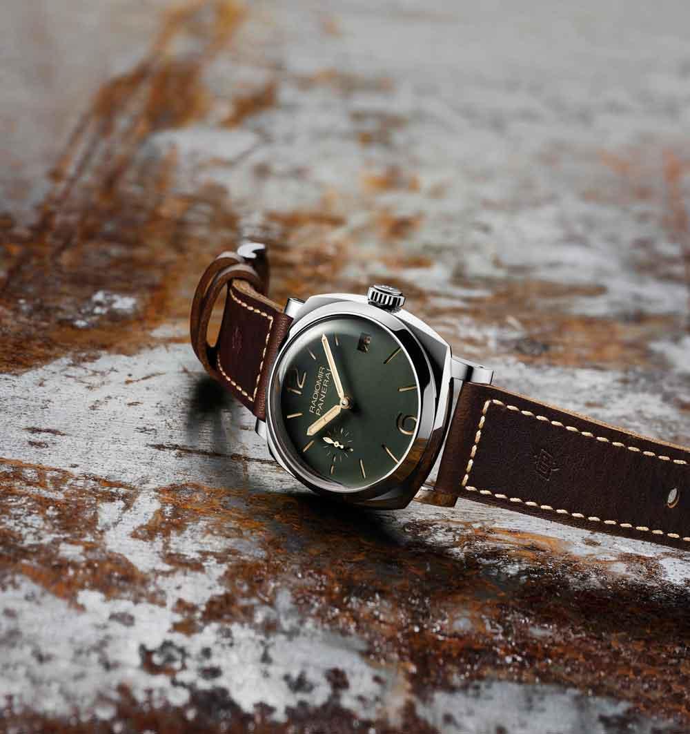 Relojes Panerai Radiomir 1940 3 Days Acciaio – 47mm esfera verde de Panerai