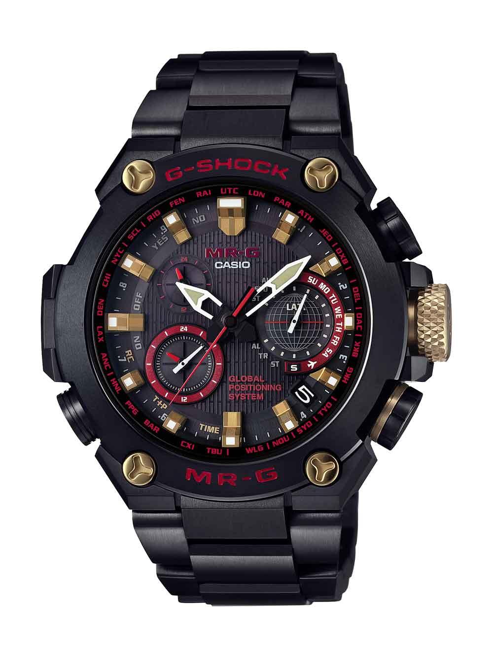 reloj MRG-G1000B-1A4 de la serie MR-G, la serie insignia de la firma G-SHOCK