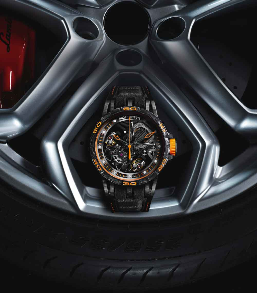 Reloj ROGER DUBUIS EXCALIBUR AVENTADOR S edición limitada 88 relojes