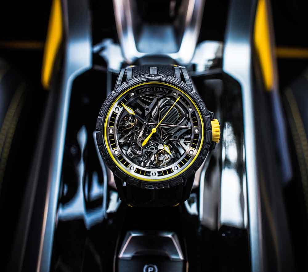 Reloj ROGER DUBUIS EXCALIBUR AVENTADOR S edición limitada 8 relojes
