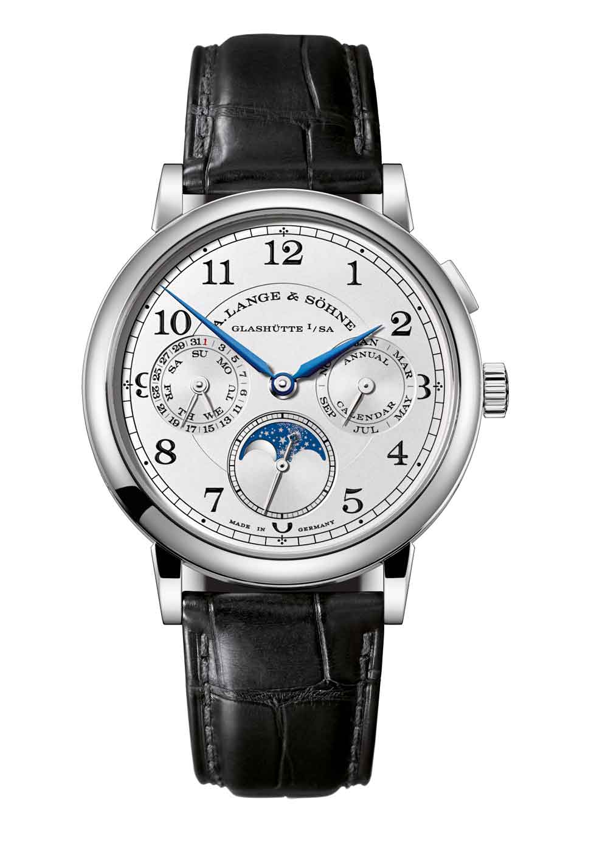 reloj 1815 Calendario Anual oro blanco de A. Lange & Söhne