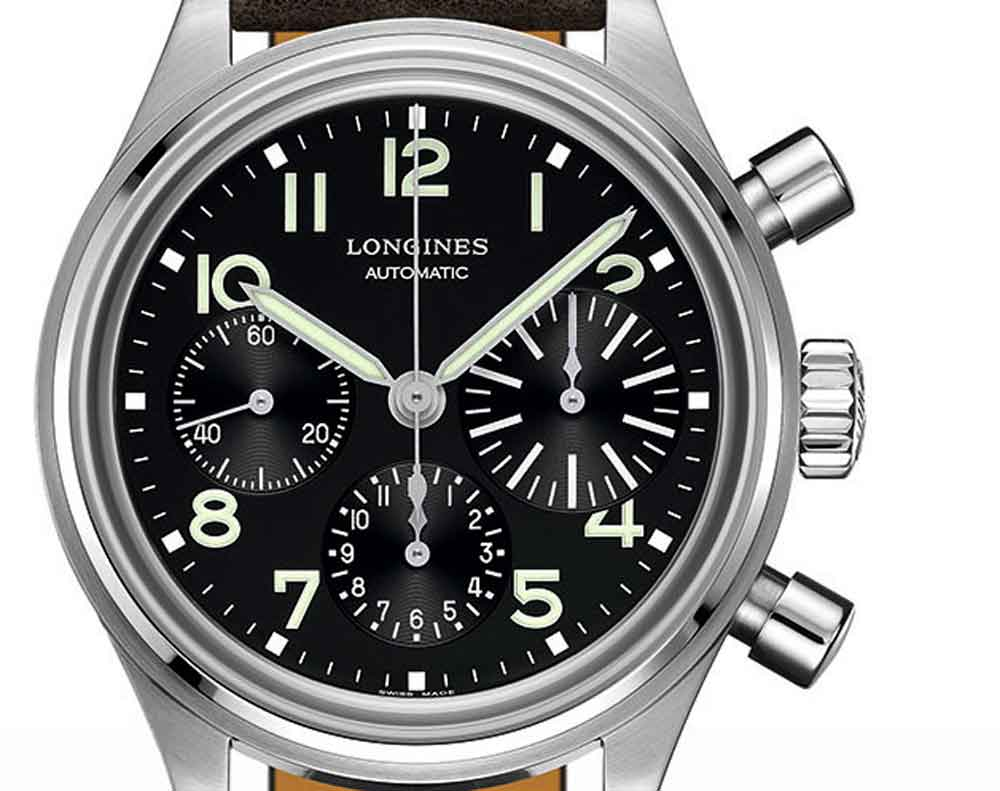 esfera reloj THE LONGINES AVIGATION BIGEYE