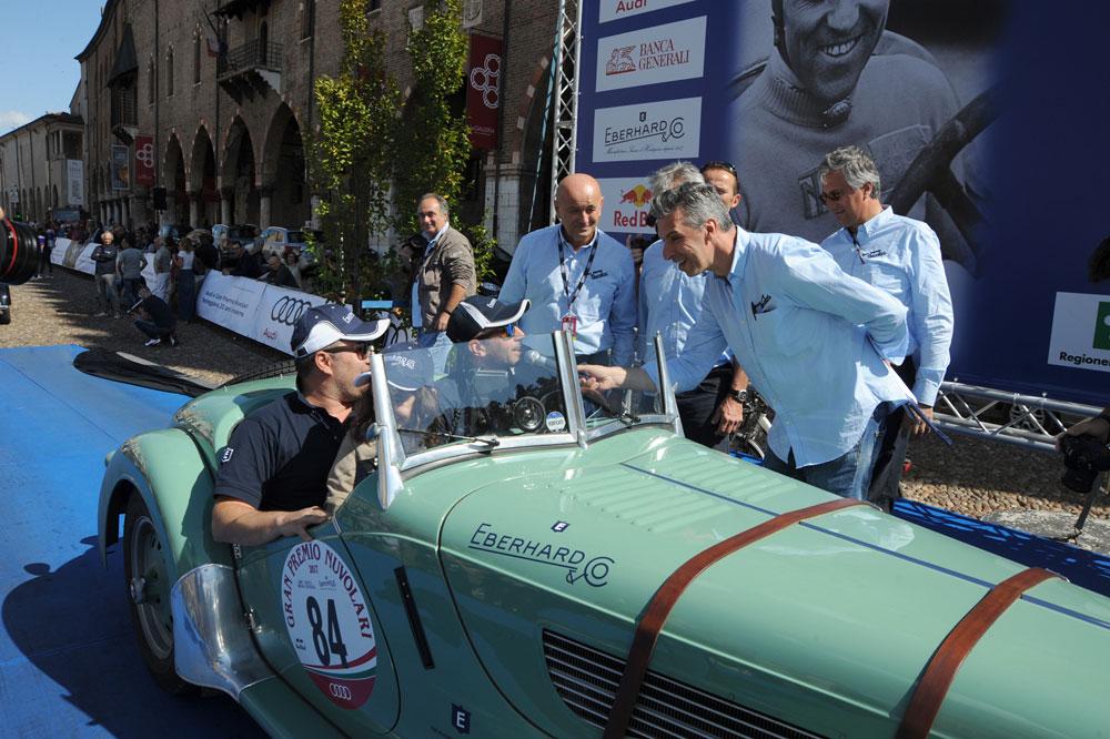 Andrea Vesco y Andrea Guerini, ganadores de la 27 edición del Gran Premio Nuvolari,