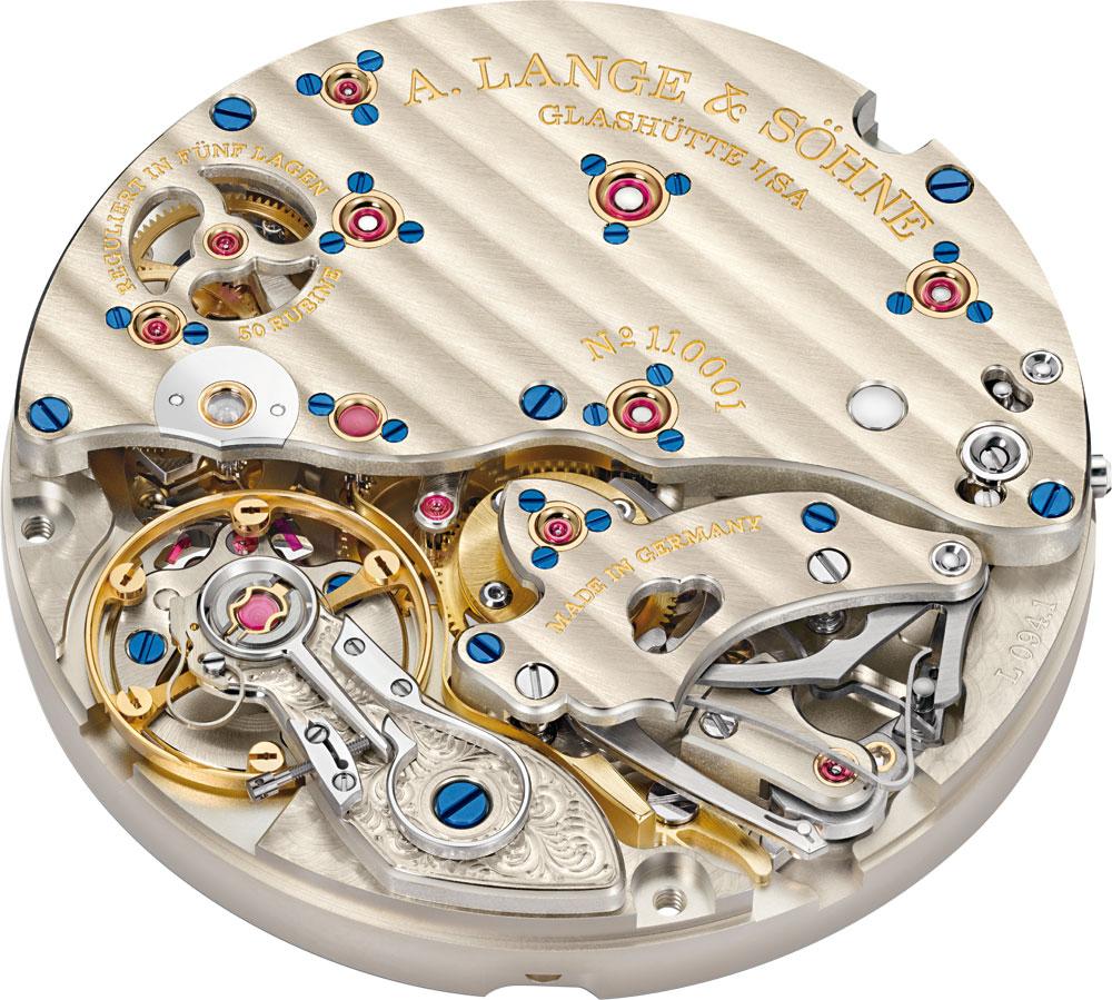 Calibre Lange L094.1 reloj Richard Lange Jumping Seconds de A. Lange & Söhne