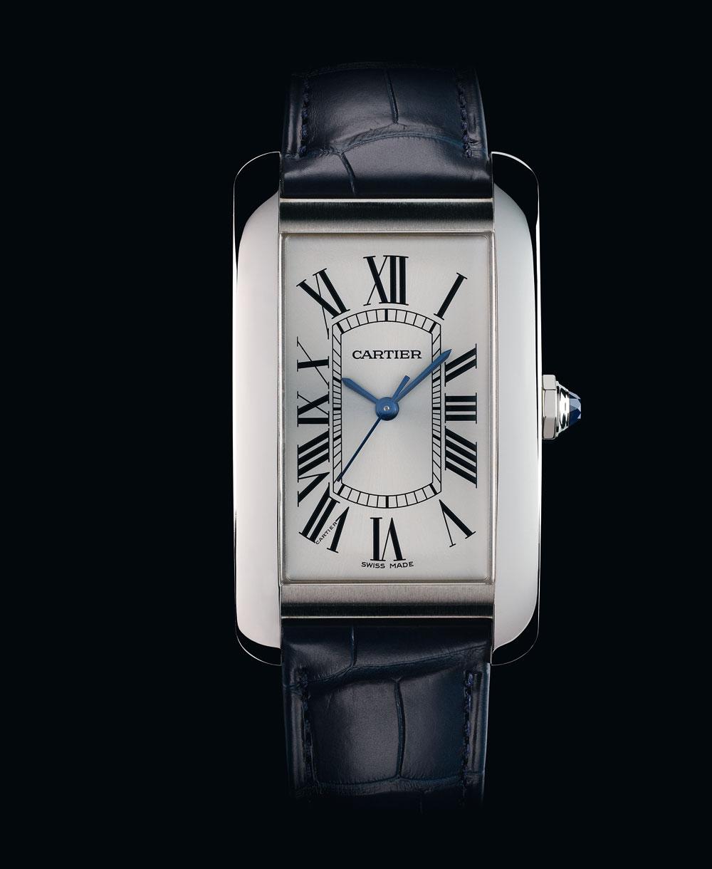 Reloj Tank Américaine Acero de Cartier