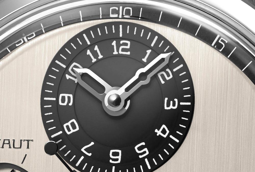 Disco horario descentrado sfera Reloj CHRONOMÈTRE FERDINAND BERTHOUD FB 1.3