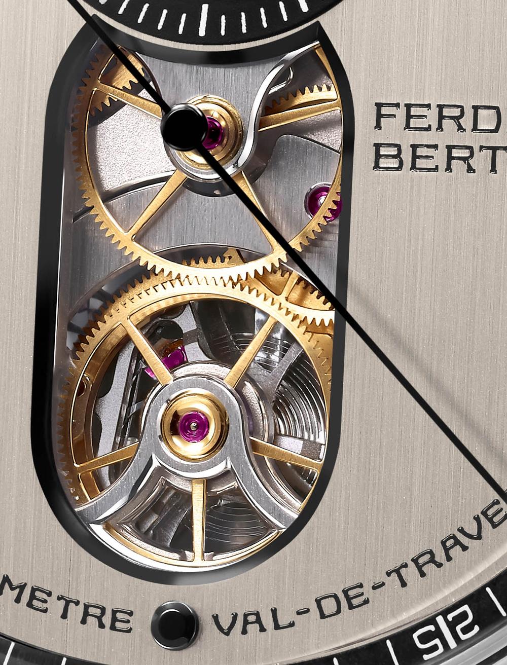 Abertura Esfera Reloj CHRONOMÈTRE FERDINAND BERTHOUD FB 1.3
