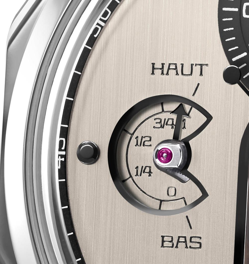 Indicador reserva de marcha patentado Reloj CHRONOMÈTRE FERDINAND BERTHOUD FB 1.3