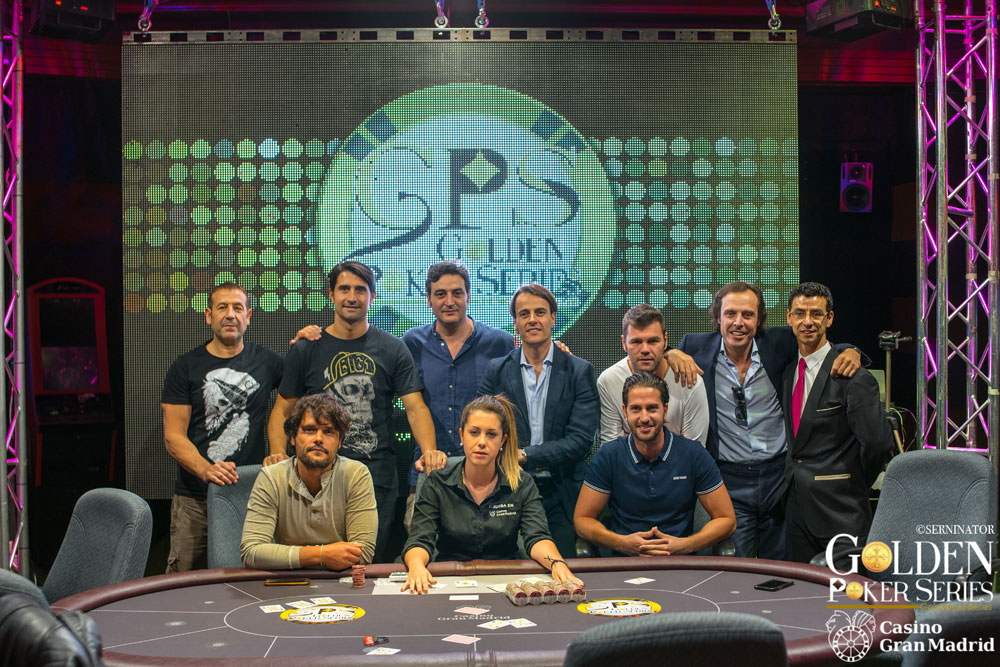 Poker Golden Series Casino Madrid