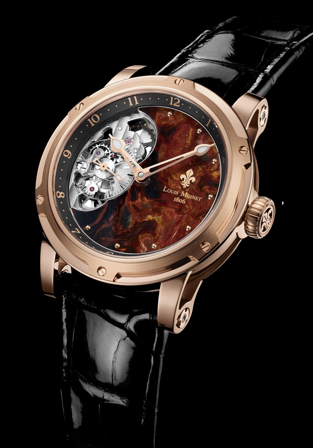Reloj Tesoros del Mundo Louis Moinet