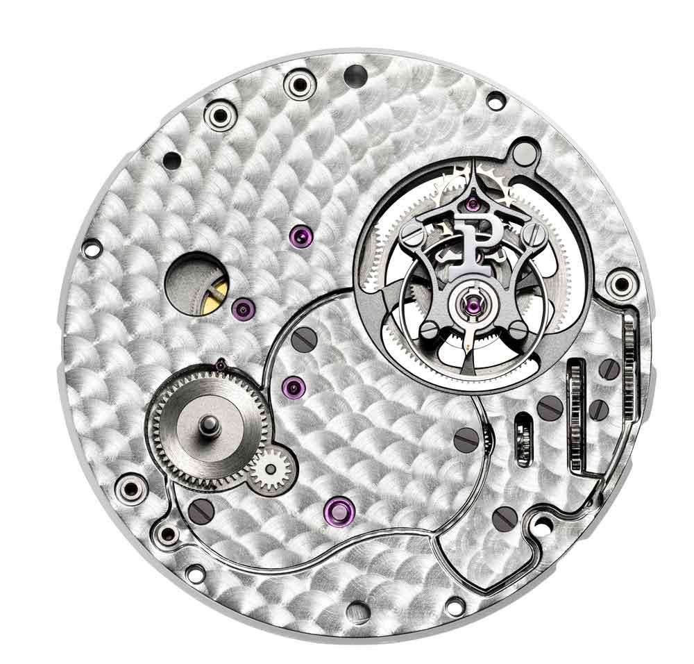 calibre 670P de cuerda manual reloj Piaget Altiplano Tourbillon Alta Joyería