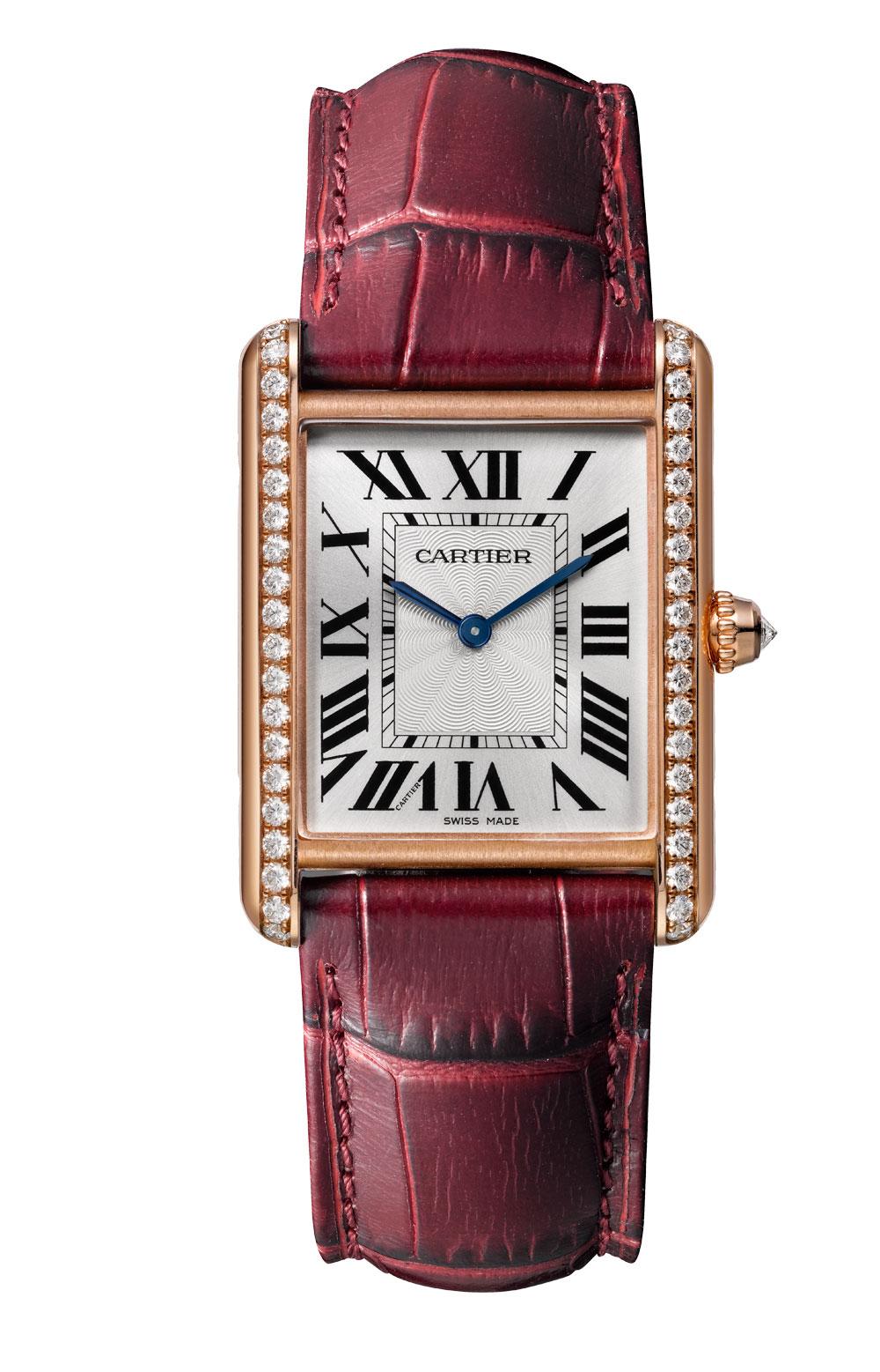 Reloj Tank Louis Cartier joyería cuerda manual