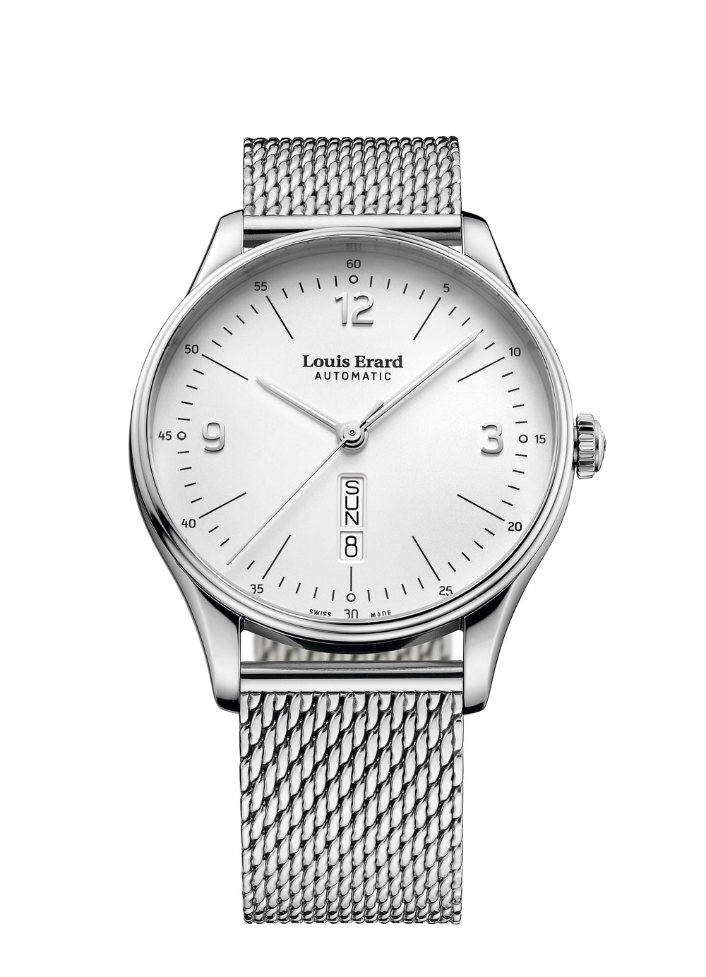 reloj Louis Erard Héritage Hora y Fecha