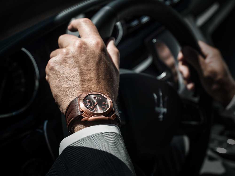 Reloj Octo Maserati GranLusso by Bulgari
