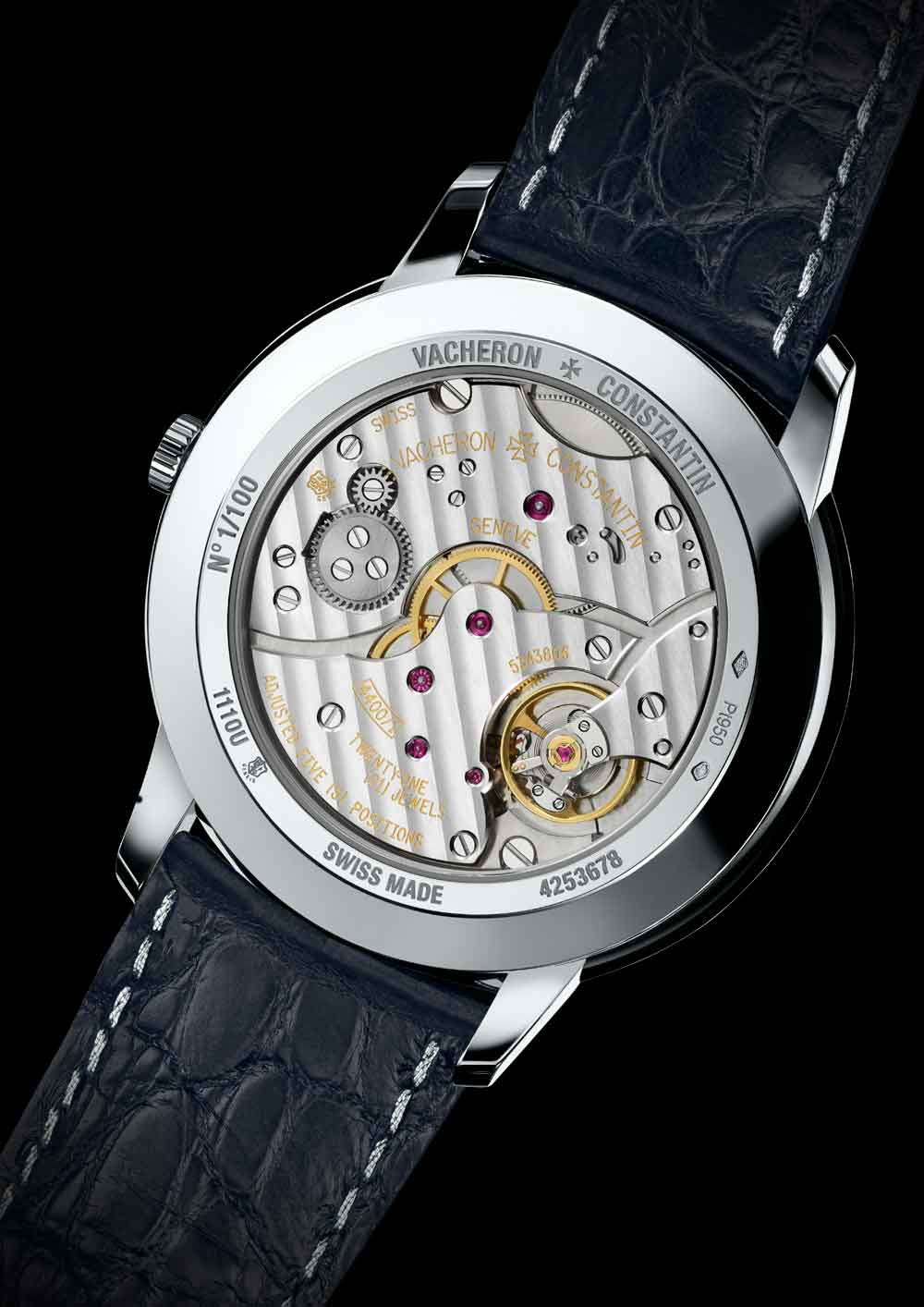 Calibre manual Reloj Patrimony Collection Excellence Platine